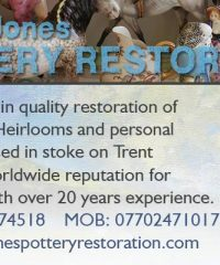 Steve Jones Pottery Restoration