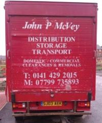 John P McVey T.R.C.S. – Transport, Removals, Clearances & Storage across the UK & Ireland