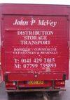 John P McVey T.R.C.S. – Transport, Removals, Clearances & Storage across the UK & Ireland